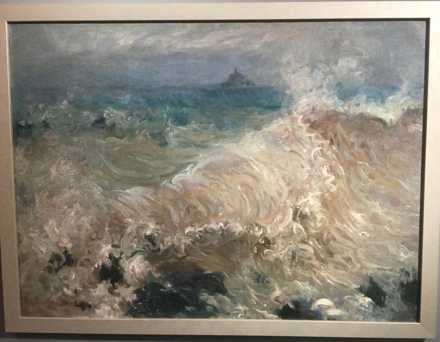 , 'Effet de Vague, Mont Saint Michel, France,' ca. 1904, ArtGiverny