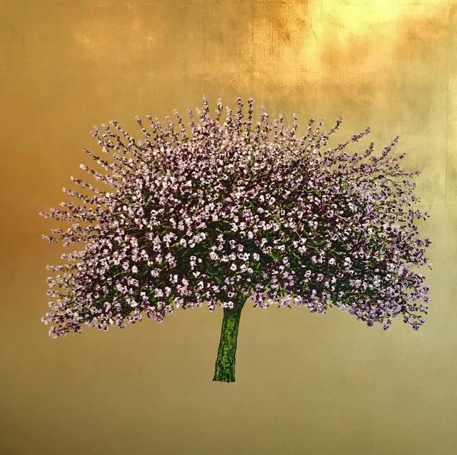 , 'Apple Blossom Gold,' 2017, Urbane Art Gallery