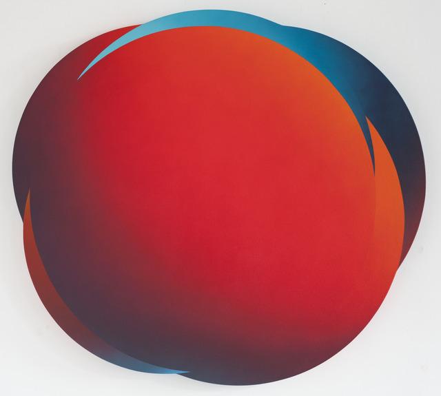 , 'Red Cloud 1249pm,' 2018, Urban Spree Galerie