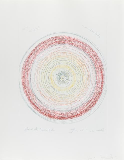 Damien Hirst, 'All Around The World', 2002, Hidden