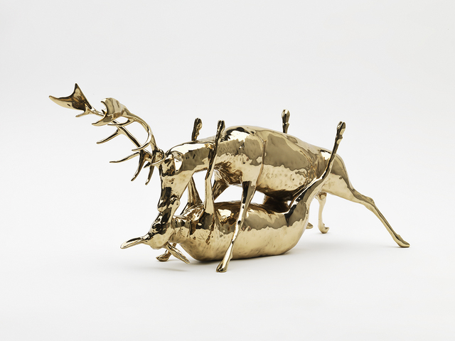 , 'Trophy (scale model 1:5 - elk),' 2010, Sperone Westwater