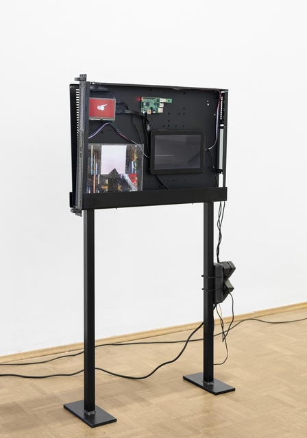 , 'Black Box (Server Sleep) AGNES,' 2015, Barbara Seiler