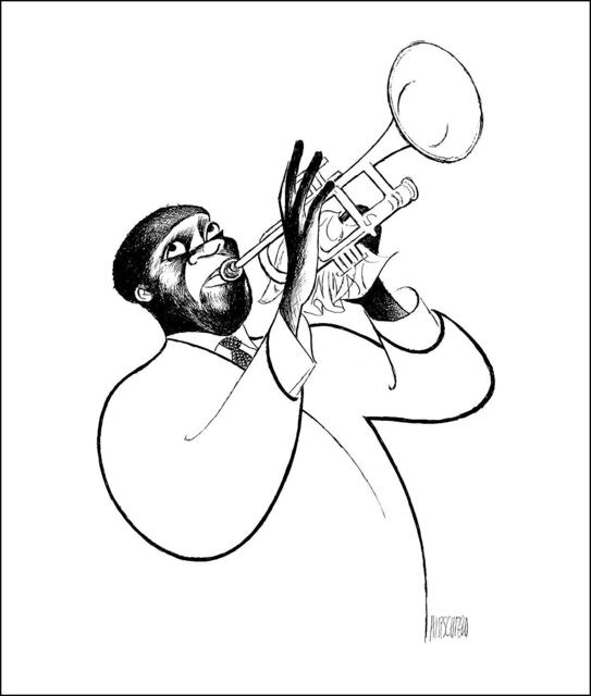 Al Hirschfeld, 'Louis Armstrong - Satchmo', 1996, RoGallery