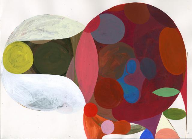 , 'Yellow Dot,' 2015, Halsey McKay Gallery