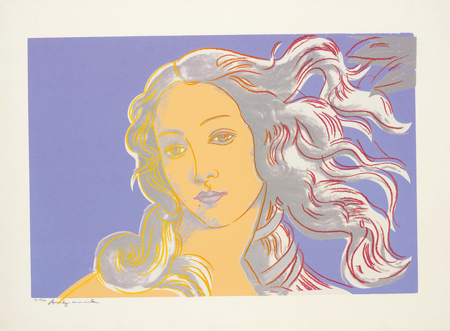 Andy Warhol, 'Details of Renaissance Paintings (Sandro Botticelli, Birth of Venus, 1482)', 1984, Phillips