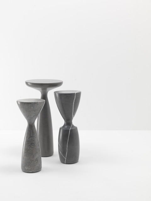 Stine & Enrico GamFratesi, 'Stoneware tables', 2012, Stone Grey / Pierre Grise / Grey Peacock, Galerie Maria Wettergren