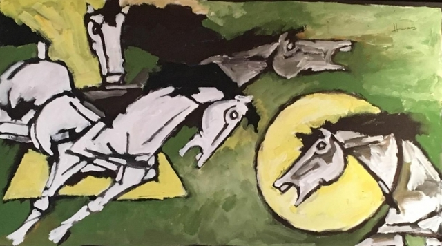 , 'Three Horses,' , Aicon Gallery