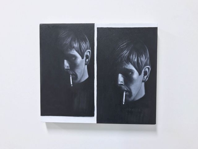 , 'Bjorn with Cigarette,' 2018, SILAS VON MORISSE gallery