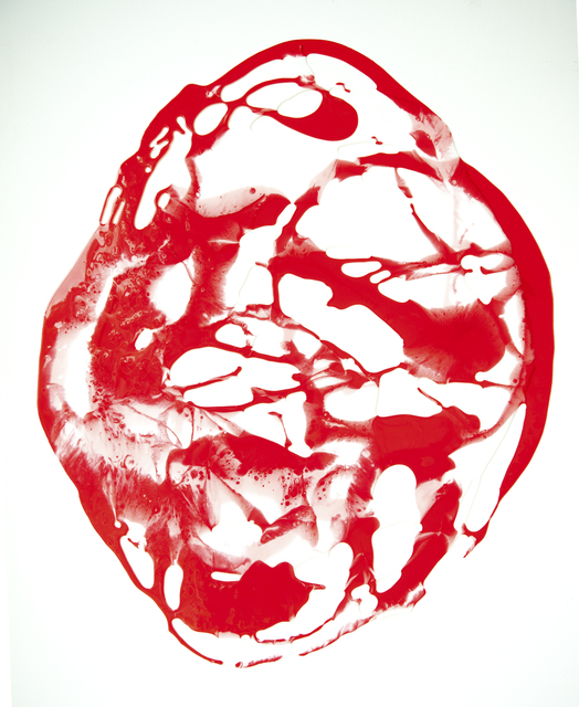 , 'Pol klein rot-weiß,' 2015, Galerie Judith Andreae