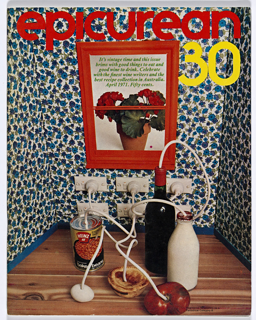 , 'Epicurean Magazine Cover Design Number 30,' 1971, National Gallery of Victoria