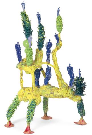 , 'Zapfen Ortkonstruktsteher,' 2001, Galerie Elisabeth & Klaus Thoman