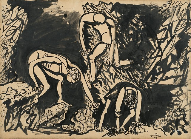 Renato Guttuso, 'Untitled (Solfatara)', 1949, Finarte