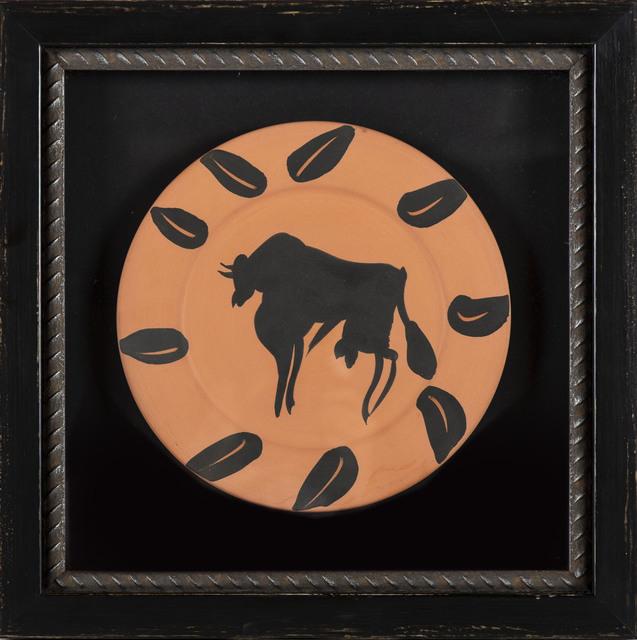 Pablo Picasso, 'Taureau, marli aux feuilles (Bull, Rim with Leaves) A.R. 394', 1957, Modern Artifact