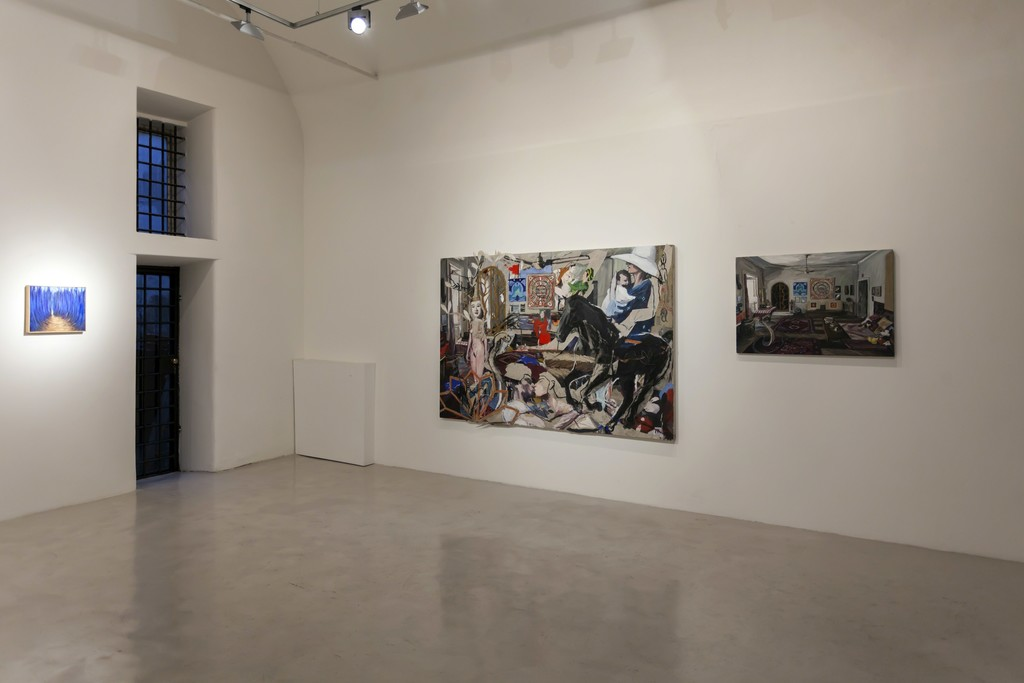 "Installation view ""Five Years"" — Lucilla Candeloro, Luca Padroni"