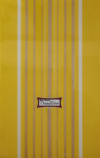 Peter Dayton, 'Dewey Weber #0 Untitled', 2008, Mixed Media, Acrylic and resin on wood, ARC Fine Art LLC