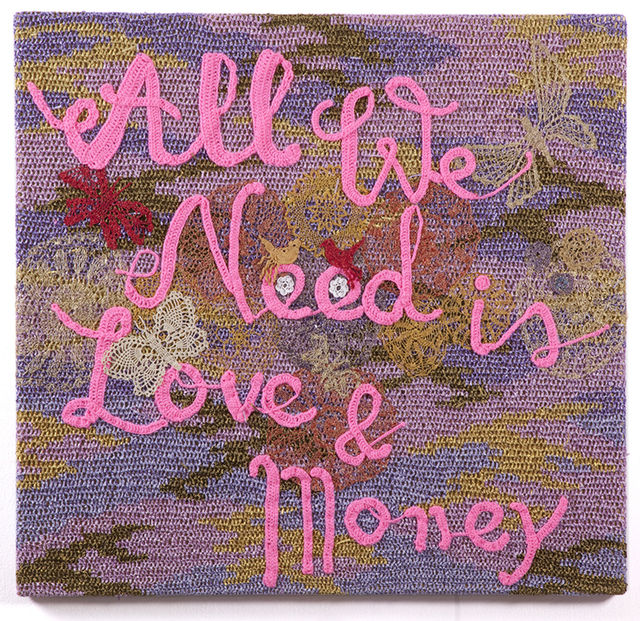 , 'All We Need is Love & Money,' 2013, Jonathan LeVine Projects