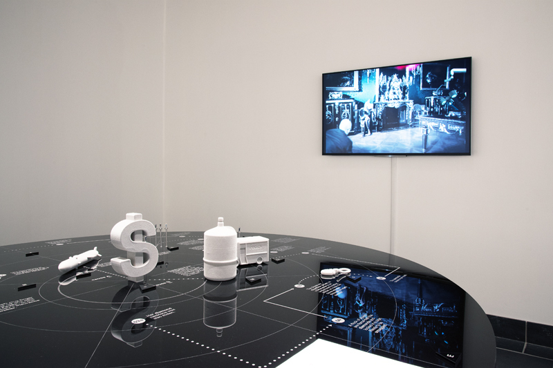 Installation view, Futureproof at Cantor Fitzgerald Gallery. Photo: Lisa Boughter