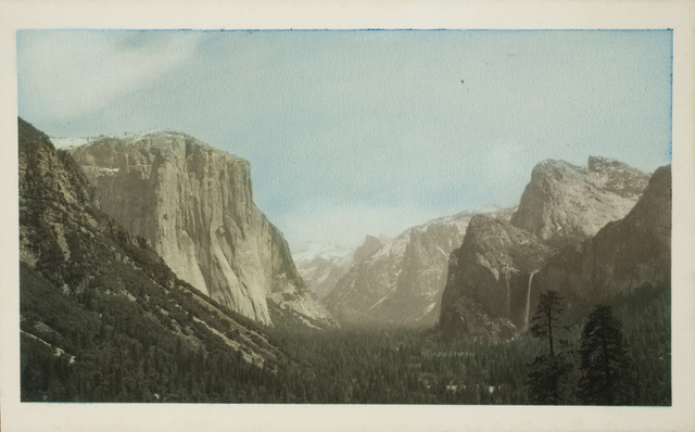 , 'Yosemite Valley from Tunnel View,' ca. 1930, George Eastman Museum