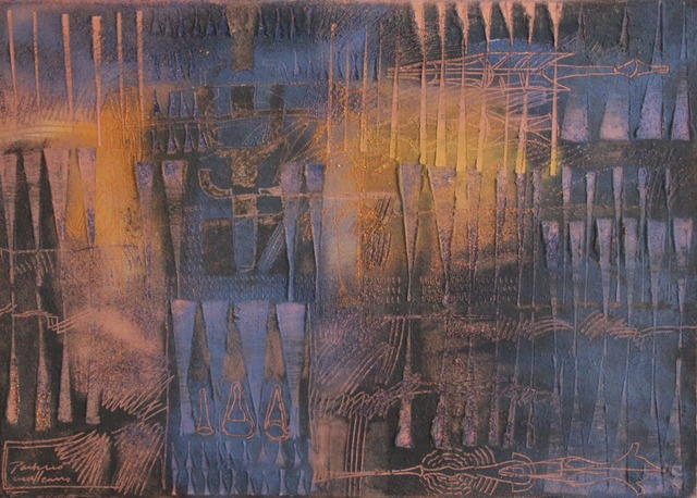 Guillermo Pacheco, 'Indigo', 2019, Galería Quetzalli