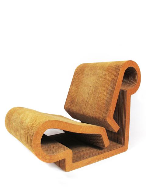Remarkable Frank Gehry Easy Edges Contour Chair 1969 1973 Artsy Creativecarmelina Interior Chair Design Creativecarmelinacom