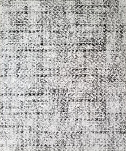 , '2,077,' 2017, Nicole Longnecker Gallery