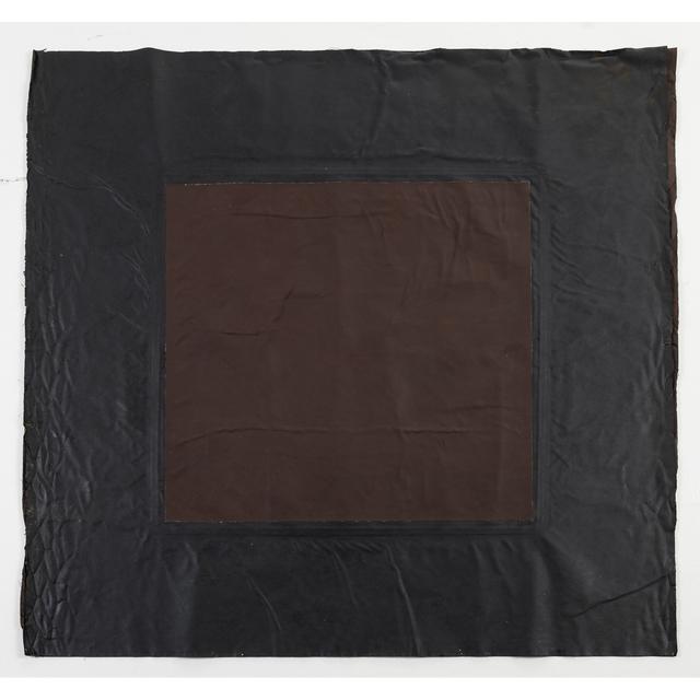 André Valensi, 'Toile double marron', 1990, PIASA
