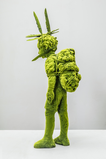 , 'Mossboy with Pack,' 2016, Jason Jacques Gallery