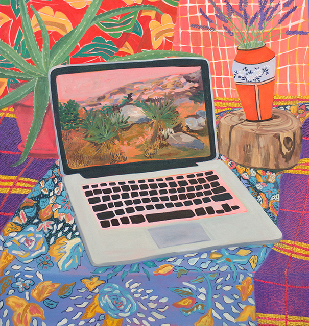 , 'Laptop with Landscape,' 2015, Hashimoto Contemporary