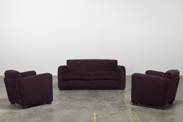 , 'Set of sofa and two armchairs,' ca. 1960, Galerie Downtown - François Laffanour