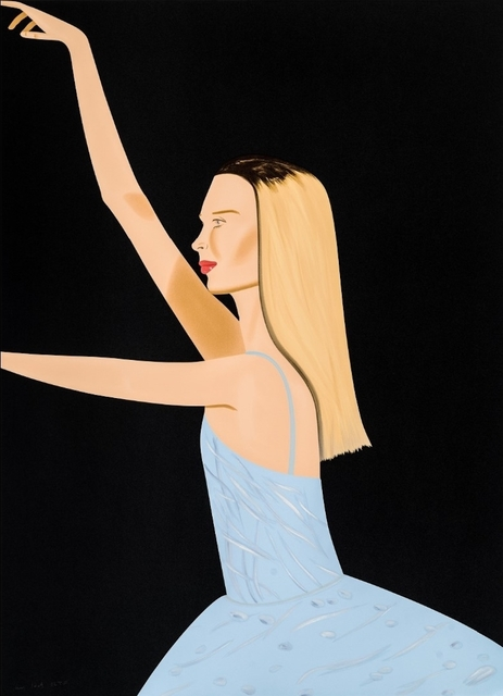Alex Katz, 'Dancer 2', 2019, Frank Fluegel Gallery