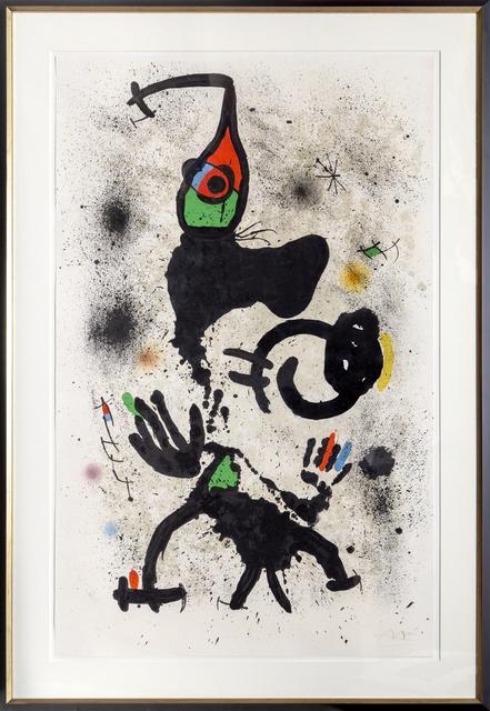 Joan Miró, 'Le Pêcheur d'Éponges (M. 697)', 1971, RoGallery