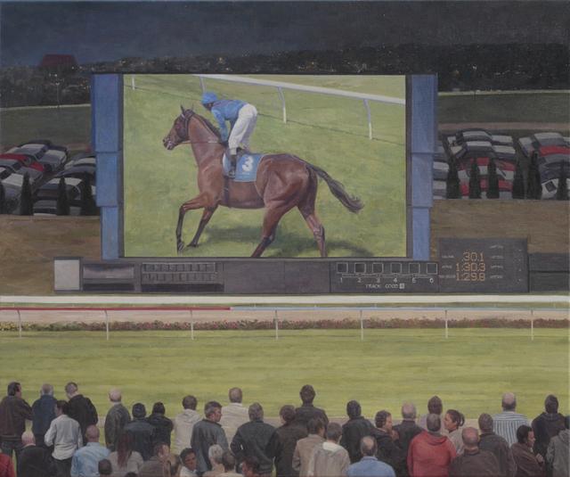 , 'Night Racing,' 2014, Charles Nodrum Gallery
