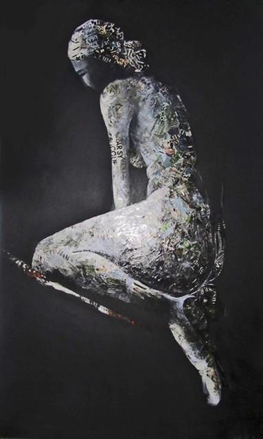 , 'Nu Noir Trois-Quart,' , Madelyn Jordon Fine Art