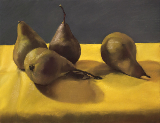 , 'Four Pears,' 2012, Atrium Gallery