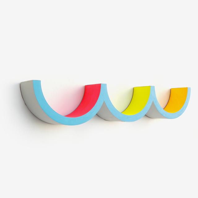 Adam Frezza & Terri Chiao, 'Dip Dip Dip', 2020, Sculpture, Acrylic paint on wood, Uprise Art