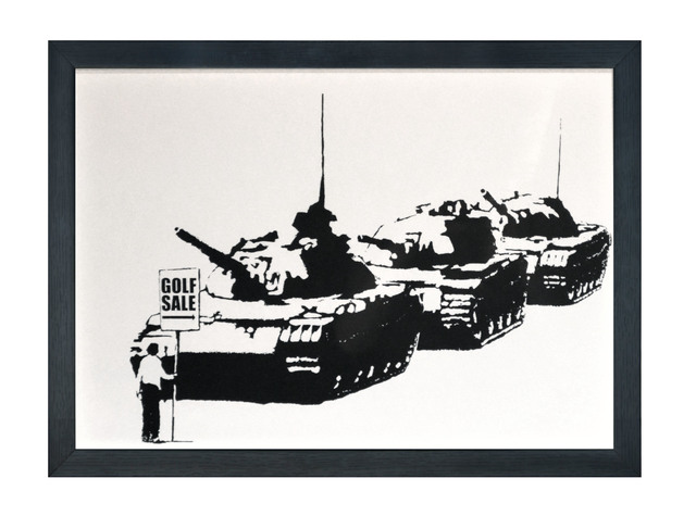 , 'Golf Sale,' 2003, Graffik Gallery / Banksy Editions