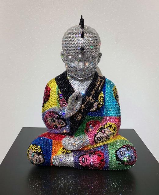 , 'Punk Buddha Marilyn XII feat. Warhol,' ca. 2018, Samuel Lynne Galleries