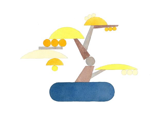 , 'Bonsai (Dangling Yellow),' 2019, Shulamit Nazarian