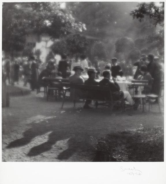 , 'Dimanche après-midi à l'île Kolín,' 1922-1926, Jeu de Paume