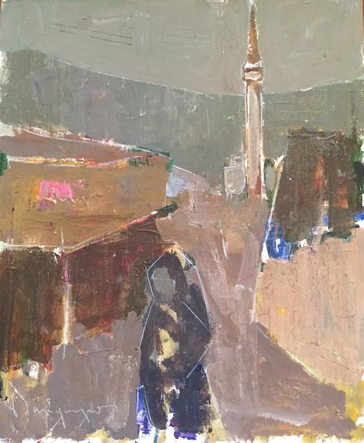 Paul-Henri Bourguignon, 'Bosnia Muslem Minaret', Eisele Fine Art