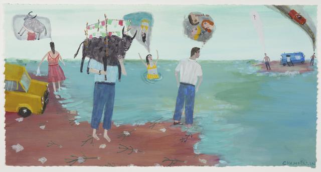 , 'Toritos, Beach,' 2017, Lora Schlesinger Gallery