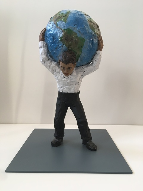 Stephan Balkenhol, 'Atlas', 2016, Korff Stiftung GmbH