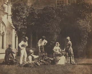 William Henry Fox Talbot, 'The Fruit Sellers,' ca. 1845, Phillips: The Odyssey of Collecting