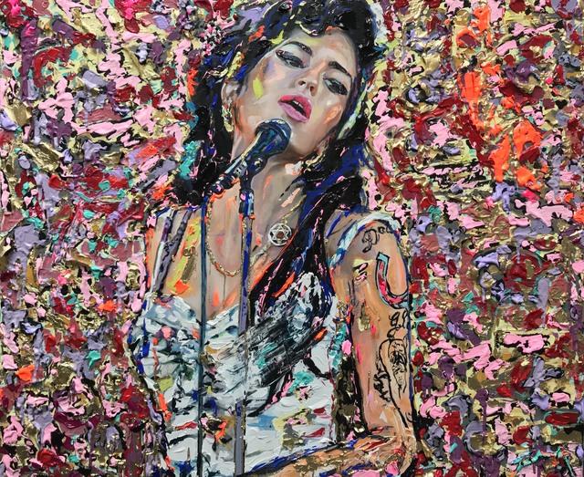 Famke Rousseau, 'Amy Winehouse', 2019, Vintage Deluxe