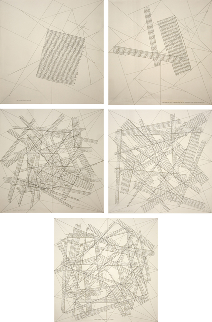 , 'The Locations of Lines,' 1975, Senior & Shopmaker Gallery