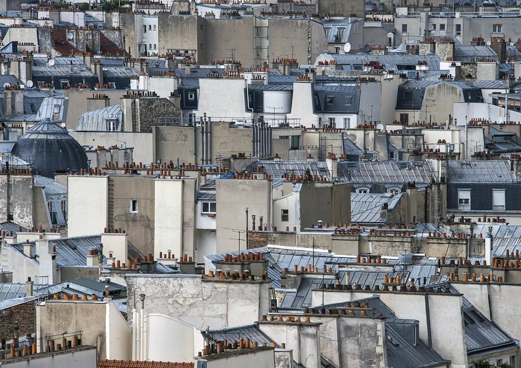 Paris Rooftops #17