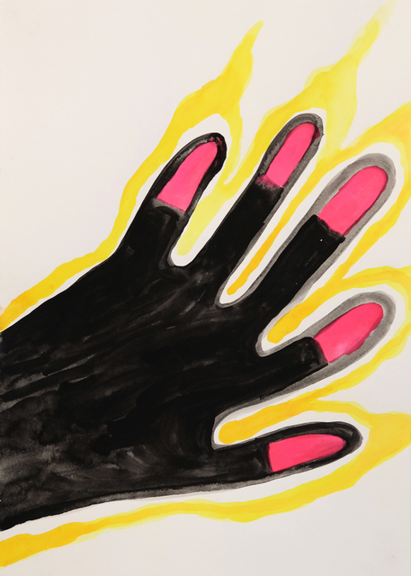 , 'Fire Hand,' 2015, Charlie Smith London