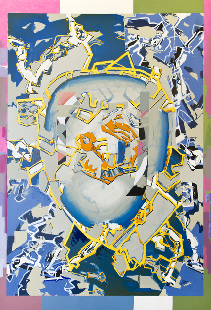 , 'Aparición-lagrima D,' 2014, Luis Adelantado