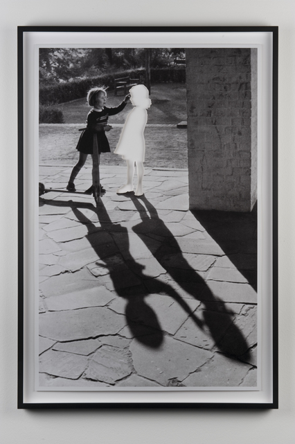 , 'Two Girls with Shadows,' 2013, Galerie Mehdi Chouakri