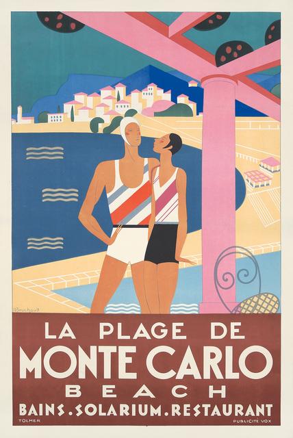 , 'La Plage de Monte Carlo.,' 1929, Rennert's Gallery